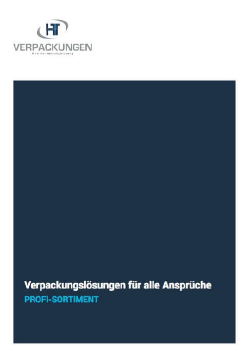 Produktkatalog HT-Verpackungen