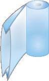 Seitenfaltenschlauch
